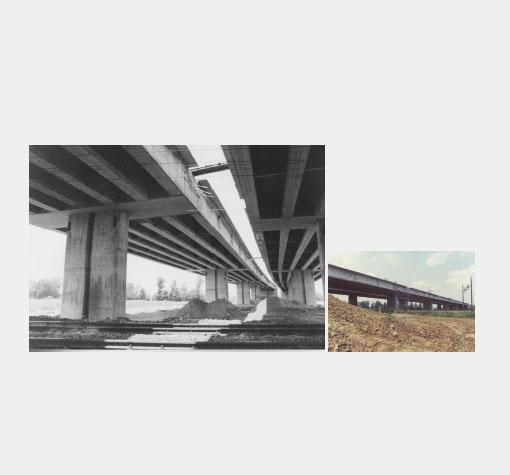 "VIADUCTS FOR ""TRAFORI"" MOTORWAY"
